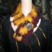 072 Felted Tibetan Shibori Collar thumbnail