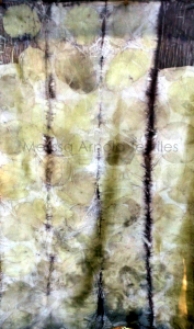 Kiwi on Silk Charmeuse